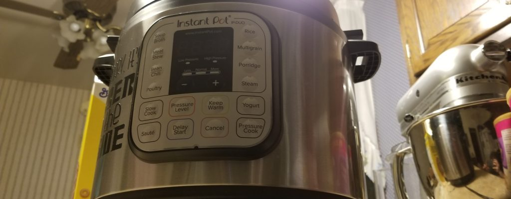 Glory to the Instant Pot